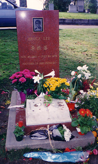 Bruce's Original Headstone