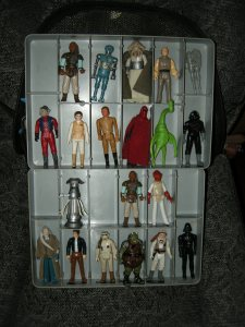 Star Wars Kenner (one BSG Starbuck too)