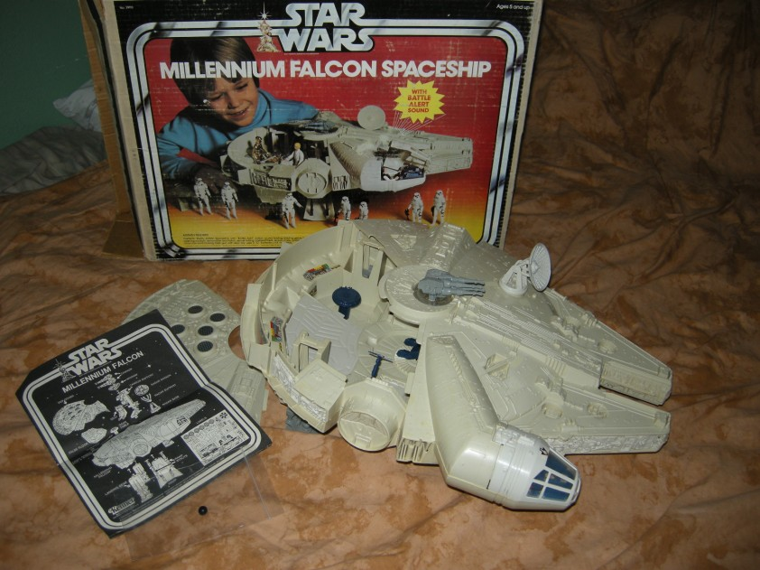 My Vintage Kenner Millenium Falcon on Ebay!