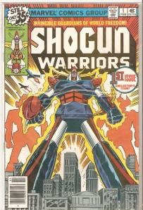 Marvel Comics' Shogun Warriors #1