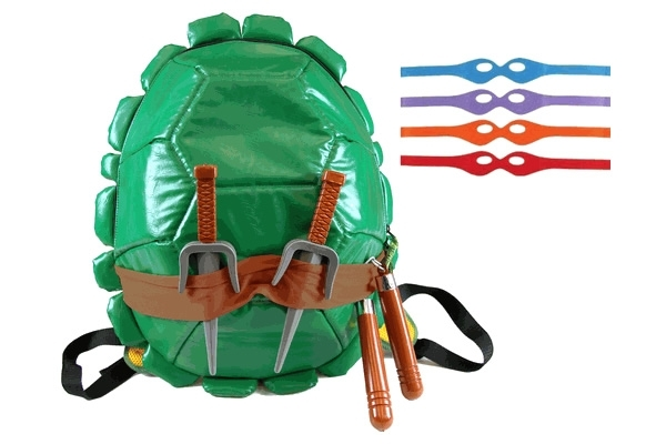 Tmnt Backpack Tmnt Shell Backpack With