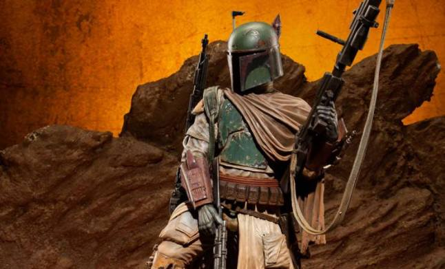 Star Wars Boba Fett - Mythos Polystone Statue by Sideshow Collectibles