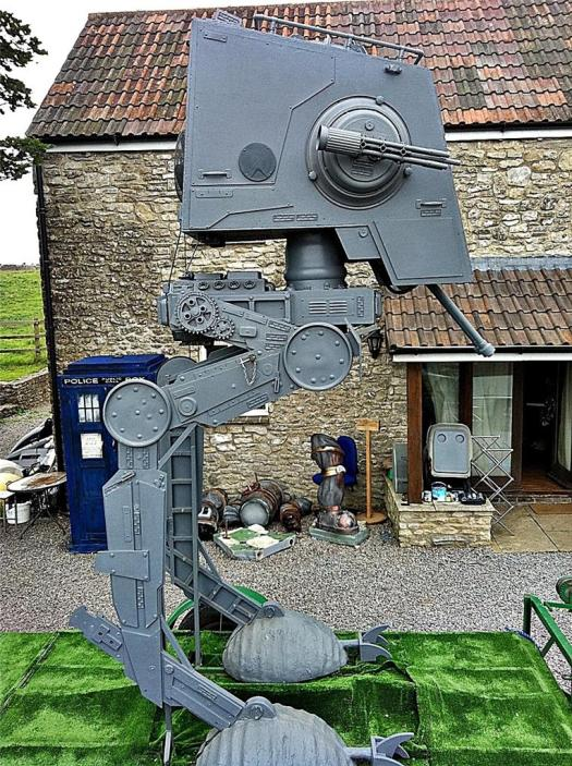 Life Size AT-ST on Ebay!