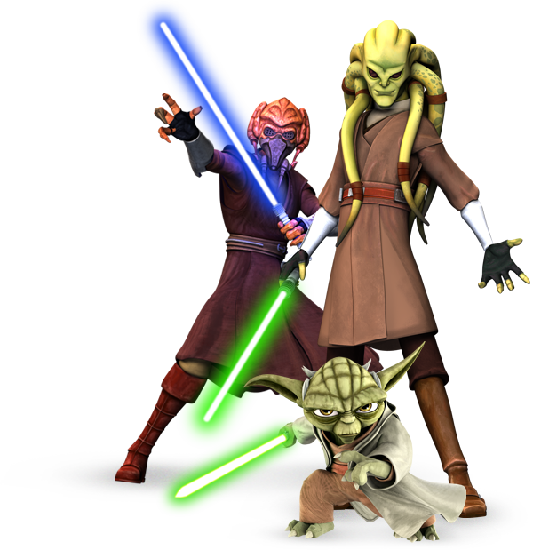 Time to Jedi Up!
