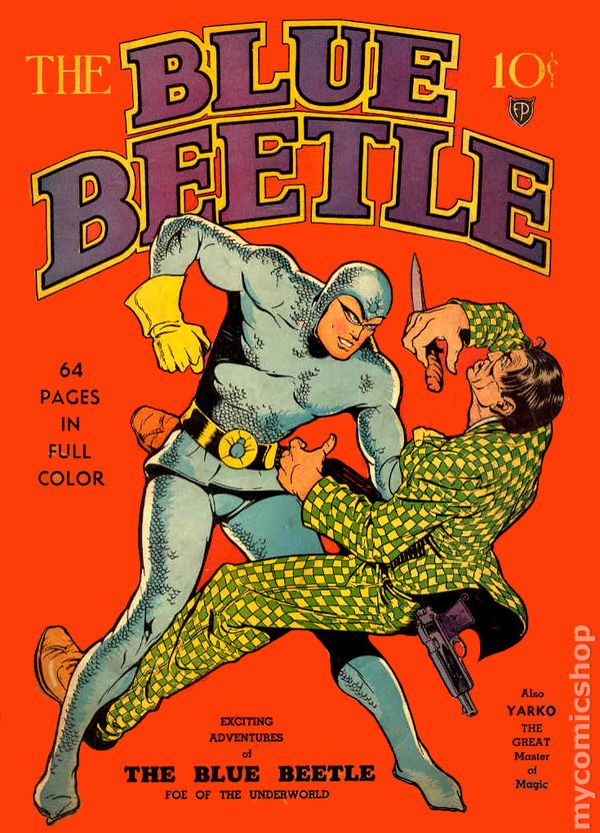Listen To The Complete 1940's Radio Drama of THE BLUE BEETLE