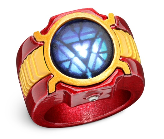 ThinkGeek :: Marvel Iron Man 3 LED Arc Reactor Ring