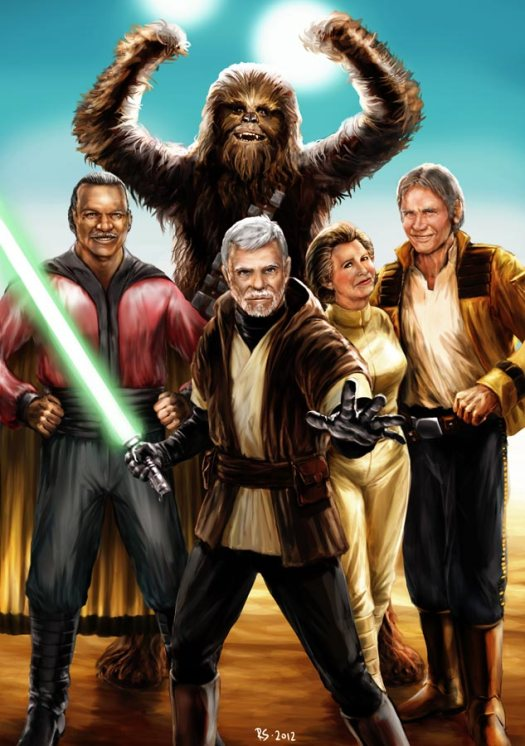Report: STAR WARS EPISODE VII Rewrites Shift Focus to Original Trilogy Heroes