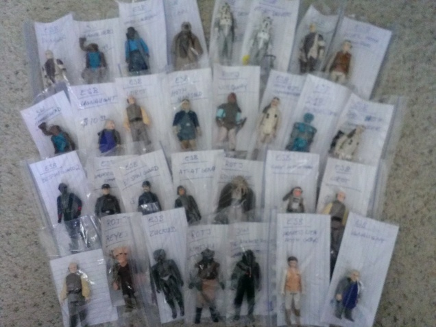 #Kenner #StarWars action figures back up at There & Back again on @Etsy!