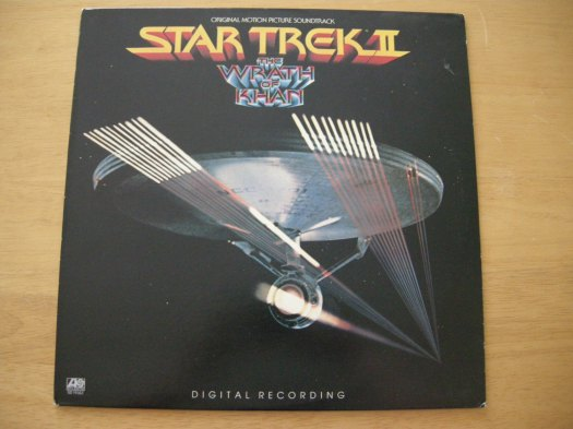 Find of the week #StarTrek Wrath of Khan LP on @Etsy