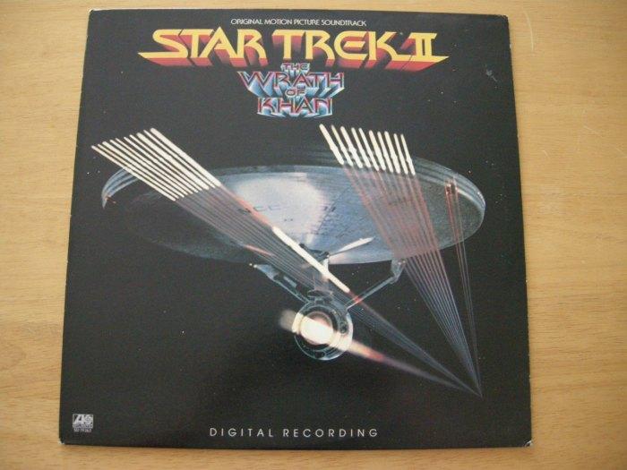 Find of the week #StarTrek Wrath of Khan LP on @Etsy