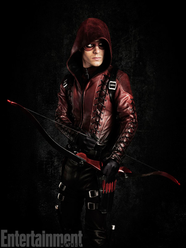 Roy Harper looking good as Arsenal in Arrow, season 3.