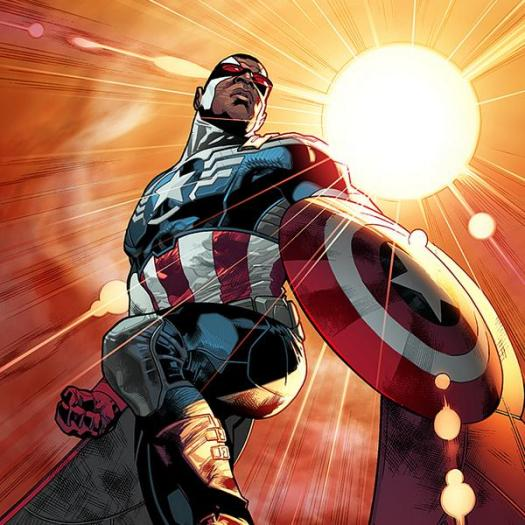 Sam Wilson, one of Steve Rogers' oldest and closest friends, will be taking up the mantle of Captain America.