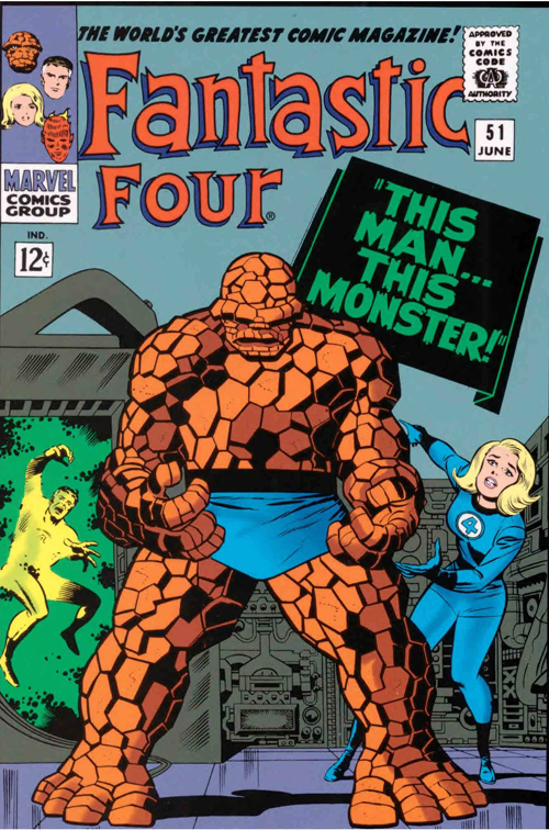 Jack King Kirby's super power was to convey and evoke emotion.