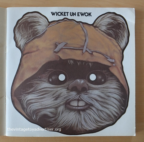 Discover your hidden 'teddy bear' side with the Wicket the Ewok mask!