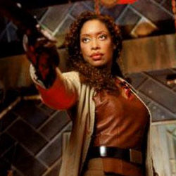 Firefly: First Officer, Zoë Alleyne Washburne. (Captain of my U.S.S. Defiant)