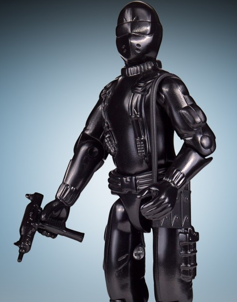 Inspired by the Hasbro vintage GI Joe A Real American Hero figure, Gentle Giant is proud to bring you the GI Joe Commando, Code Name: SNAKE EYES. One of the first figures released in the series that started in 1982, this fan favorite continues our amazing series of jumbo vintage figures. Pre Order for $120.00