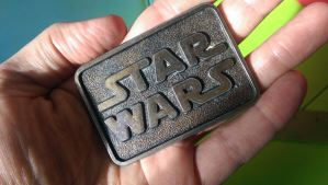 My favorite belt buckle that I wore for years. Now, belongs to another it does.