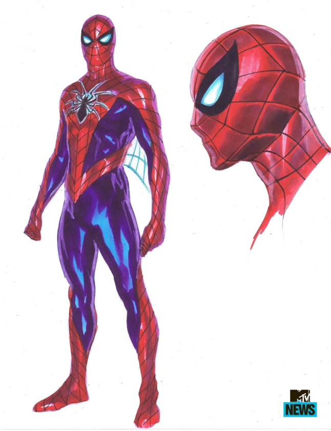 A more detailed look at Peter's new duds.