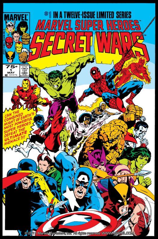 Secret Wars 84
