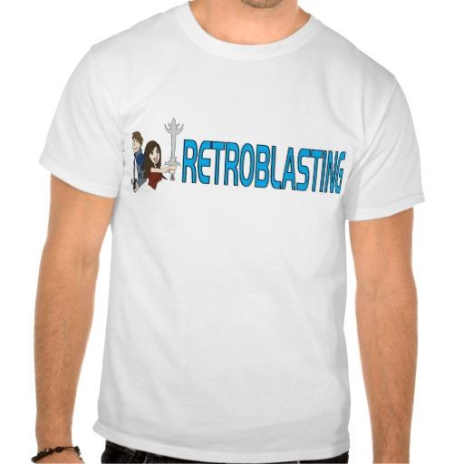 Retroblasting Logo Light Tee