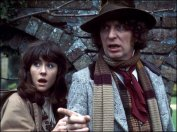 Tw of the best heroes ever, Mr. Tom Baker, the fourth Doctor and Liz Sladen as Sarah Jane Smith :)