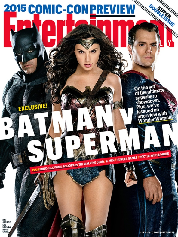 This Week's Cover: First look at Batman v Superman: Dawn of Justice's ultimate superhero showdown
