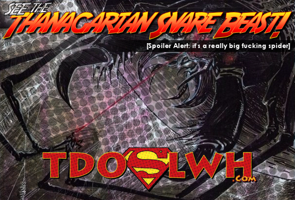 Thanagarian Snare Beast!