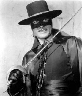 Guy Williams as Zorro!