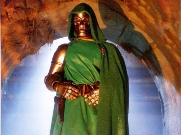 Best Live Action Doctor Doom EVER. Nuff Said.