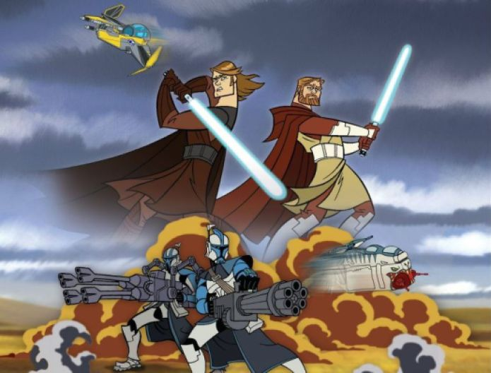 Clone Wars - Awesome designs and serious action