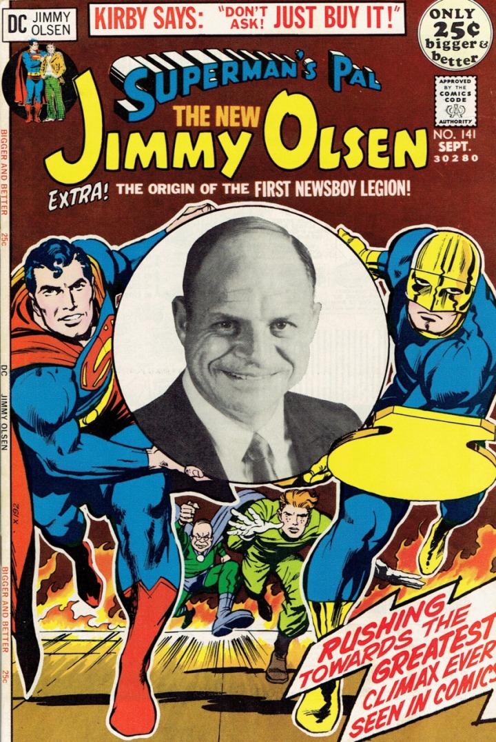 Superman's New Pal, Don Rickles?