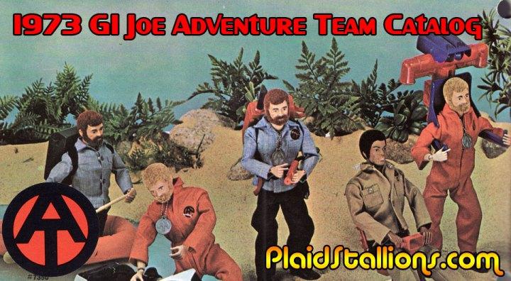 1973 Adventure Team GI Joe Catalog by Hasbro