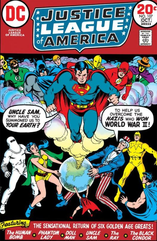 justice league of america 107